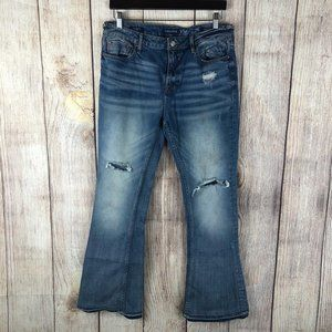 Vigoss The Jagger Flare Leg Blue Jeans Sz 30